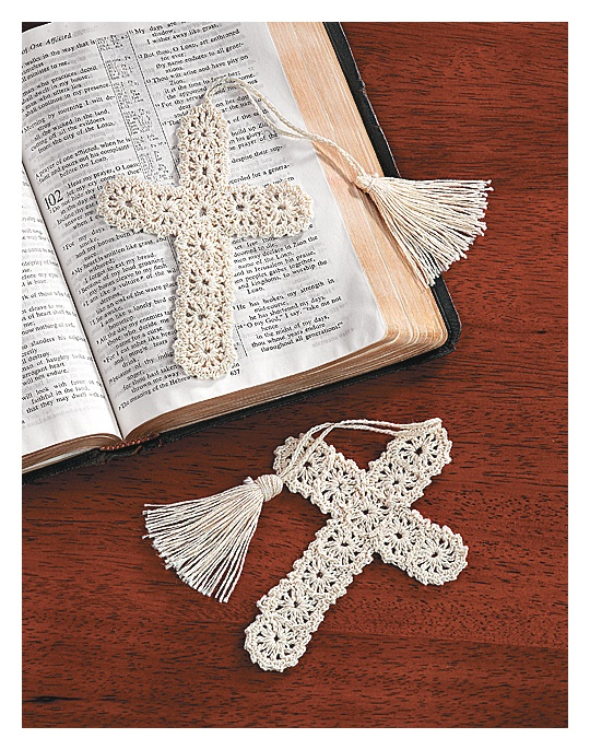 Oriental Trading Company Crocheted Cross Bookmarks - Kids' Stationery & Bookmarks Favors & Favor Kit...