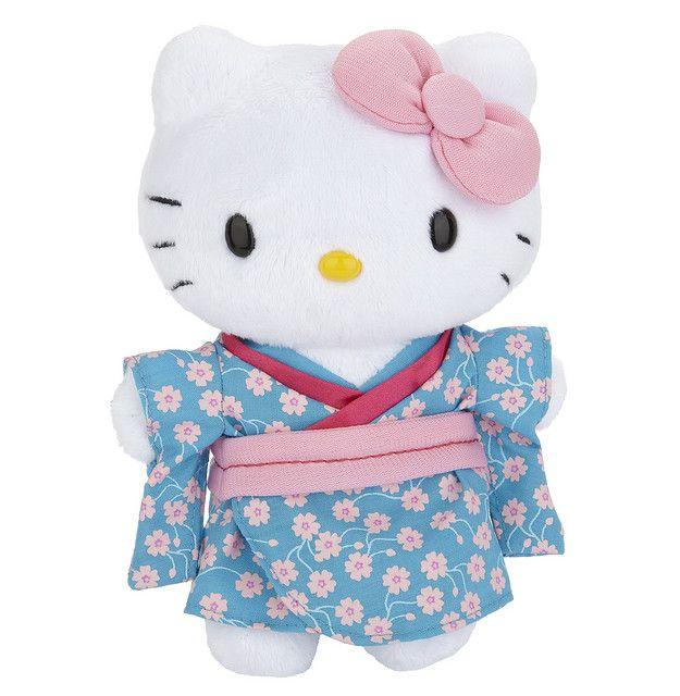 Hello Kitty kimono plush toy