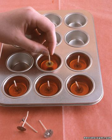 DIY Floating Candles!! Definitely making these as Christmas gifts. Bundle up with a nice glass bowl and instructions!