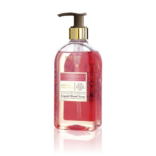 Жидкое мыло для рук с розой и сандалом Essense & Co.