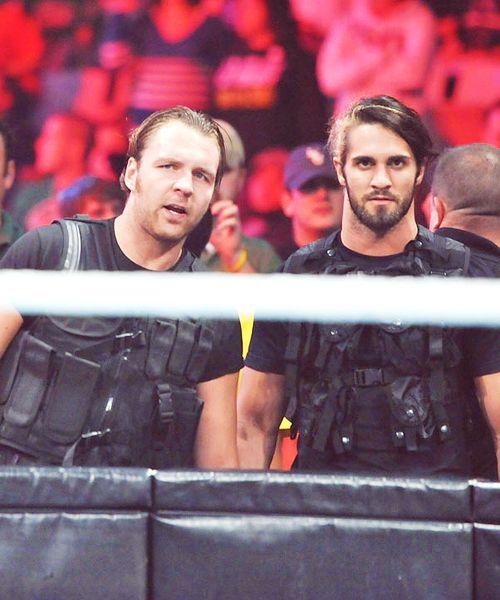 Dean Ambrose and Seth Rollins | فكرة مباراة Seth Rollins ضد Dean Ambrose ~ موقع ...
