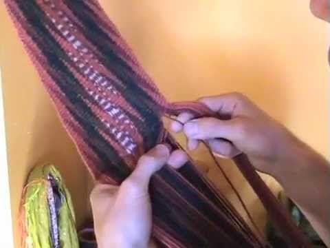 La confection de ceintures fléchées - YouTube
