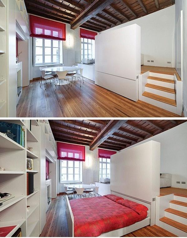 space saving bedroom