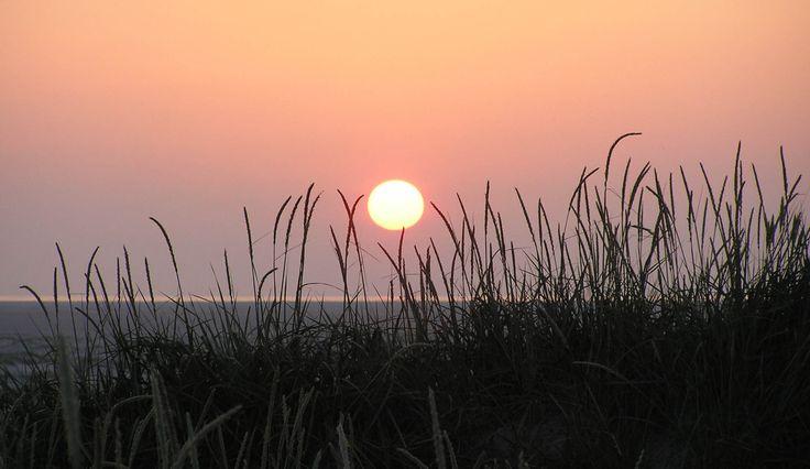 Sunset at the North Sea coast - Denmark