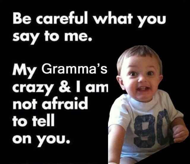 Funny Memes For Grandma : Best images about grandma meme grandkids on