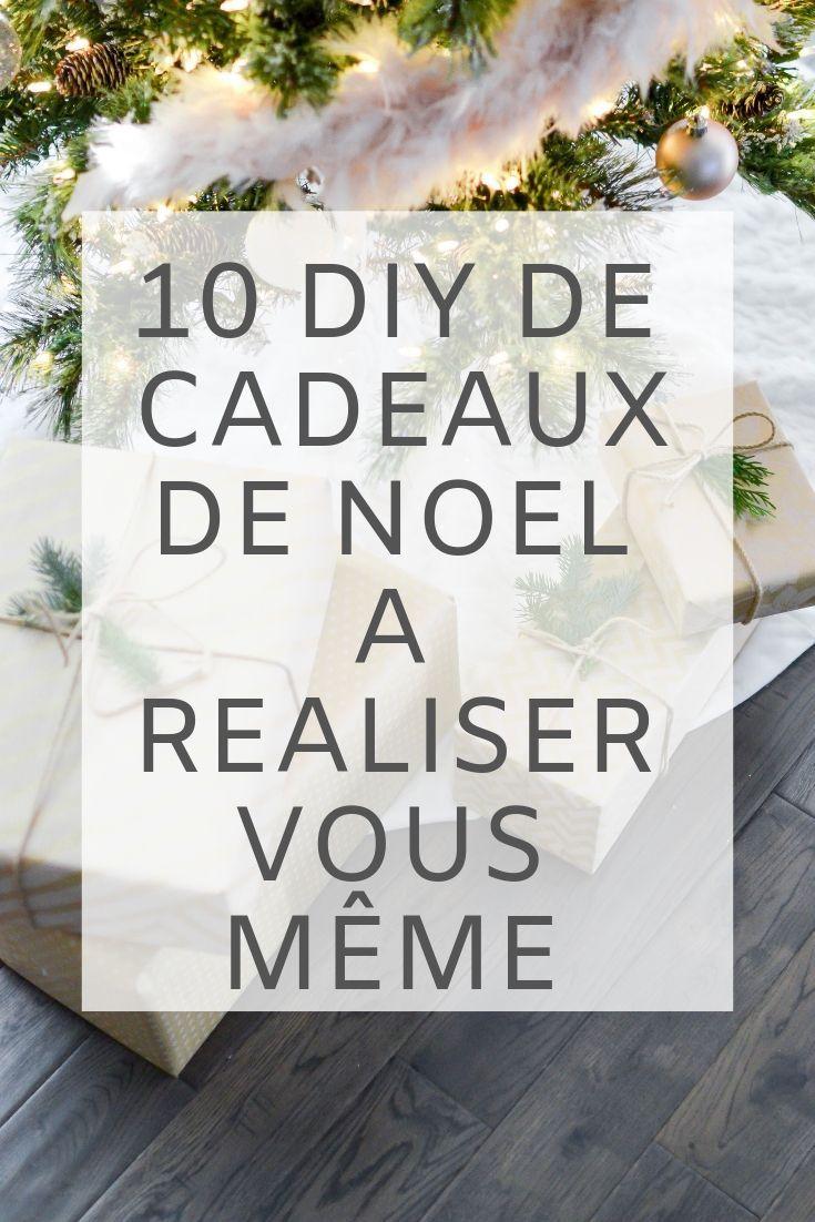 10 Idees De Cadeaux A Faire Soi Meme Cadeauxarealisersoimeme