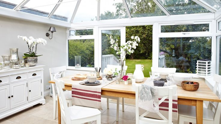 Give your conservatory or garden room the wow-factor with practical and stylish furniture