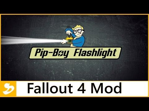 Turn your radial Pip-Boy light into a directional flashlight