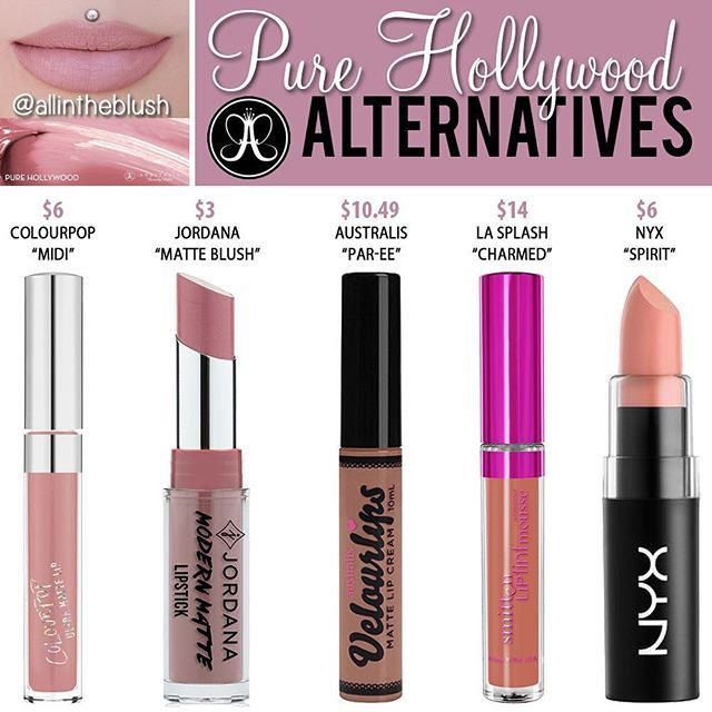 Happy Friday @anastasiabeverlyhills #PureHollywood Alternatives are here! I…