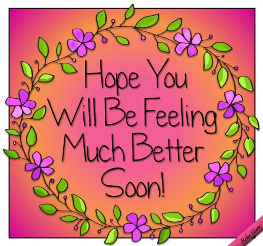 Pretty #GetWell #Ecard www.123greetings.com/profile/bebestarr