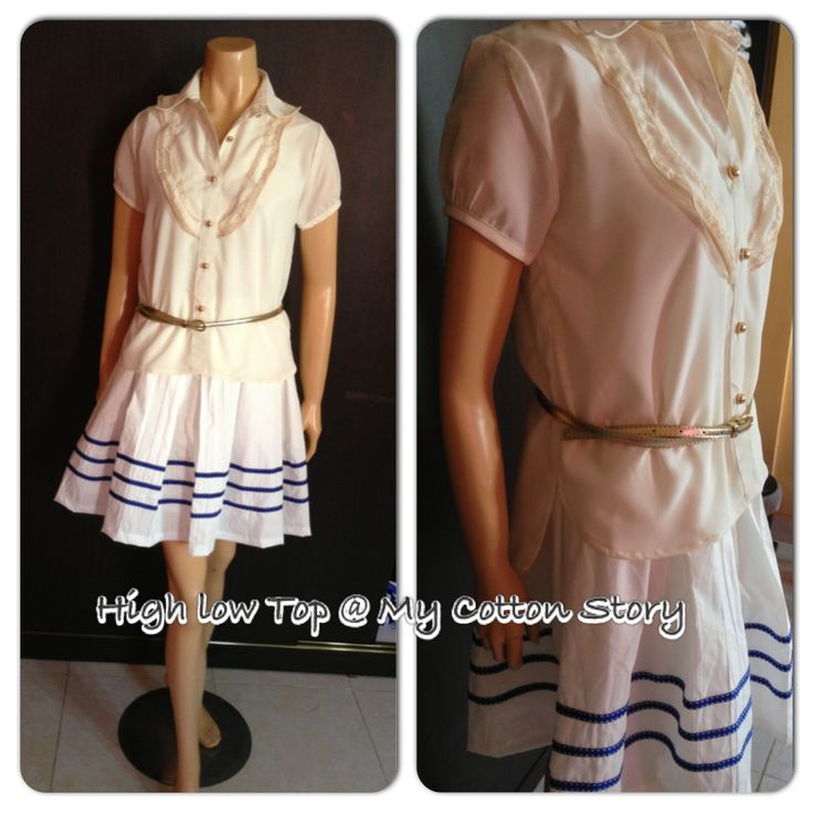 High low top, original design by My Cotton Story, S-XL