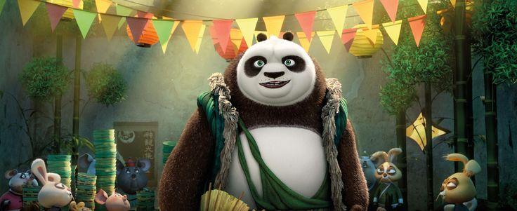 3840x1573 kung fu panda 3 4k nice wallpaper