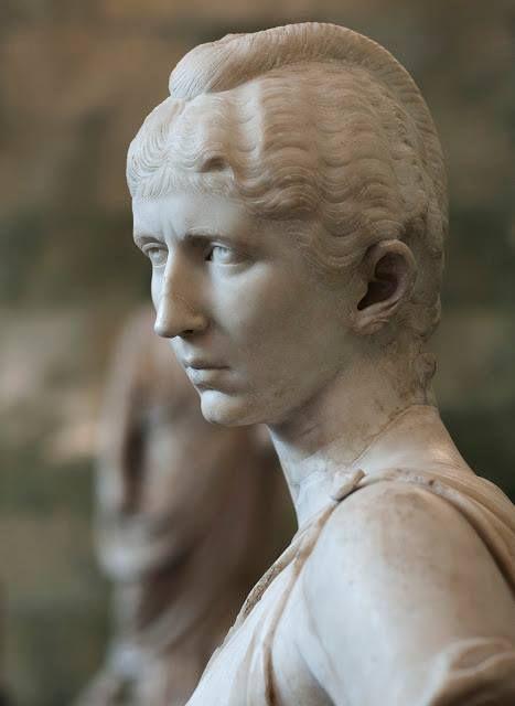 Cornelia Salonina, wife of Emperor Gallienus. State Hermitage Museum, Russia.
