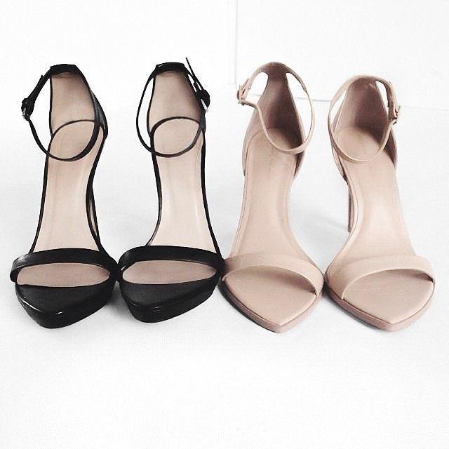 【限定価格セール!】 ロンドンレベル レディース ヒール シューズ London Rebel studded pointed heels in nude Beige 【在庫あり 即納