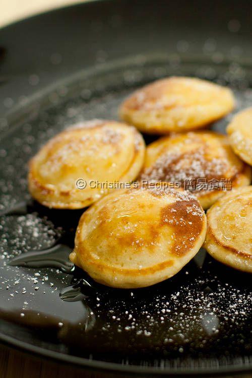 Dutch Pancakes (Poffertjes) @FoodBlogs