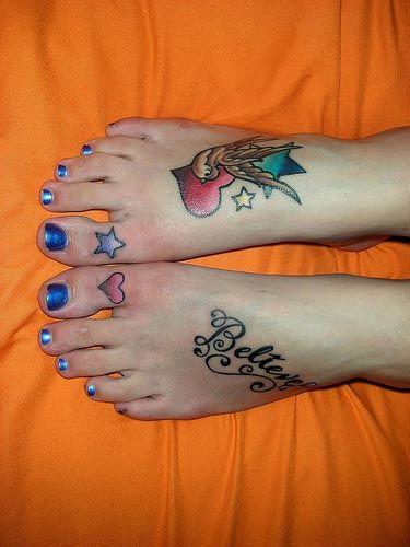 Συλλογή με φανταστικά σχέδια τατουάζ