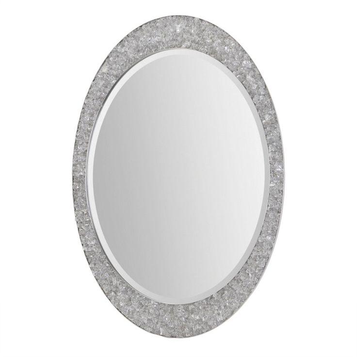 Ren Wil Renwil Sirens Brushed Nickel Mirror