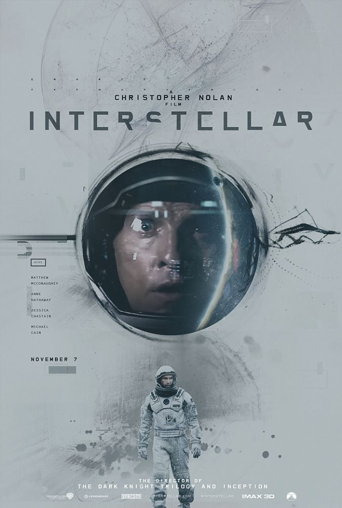 Alternative Interstellar Posters by James Fletcher