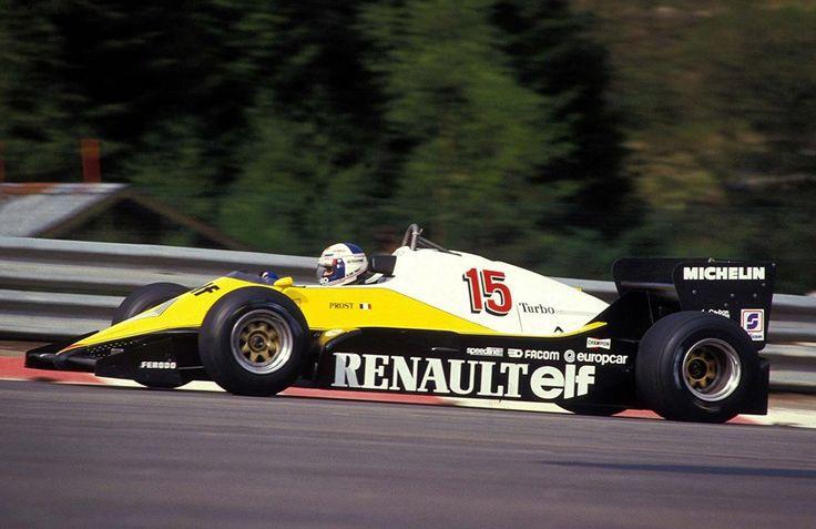1983 Spa-Francorchamps Elf Renault RE40 Alain Prost