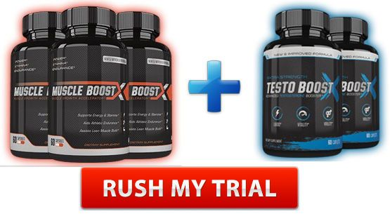 Muscle Boost X & Testo Boost X – Top Rated Muscle Enhancers?