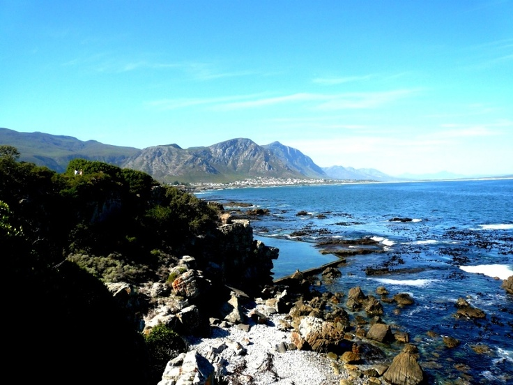 The Hermanus Cliff Path is world renowned and visitors can stroll along the breathtaking cliff paths hugging 12km of coastline.