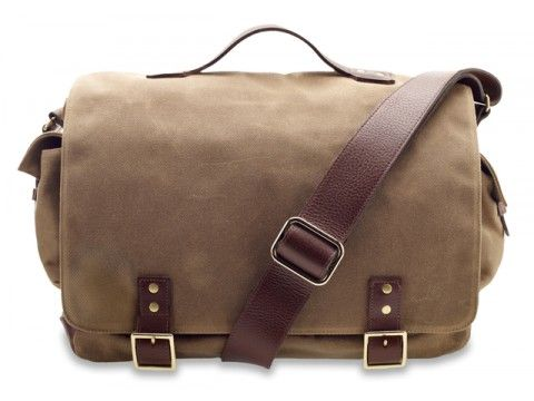 Hudson British Tan Wax Till Messenger $395 Earnest Alexander:
