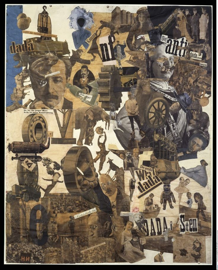 Hannah Hoch - Cut with the Dada Kitchen Knife through the Last Weimar Beer-Belly Cultural Epoch in Germany