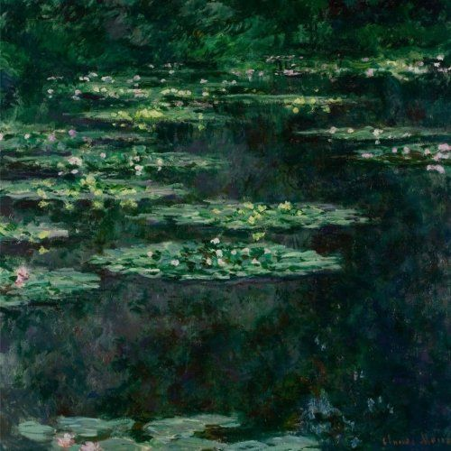 Water Lilies I, Claude Monet. Blank journal: 150 blank pages, 8,5 x 8,5 inch (21.59 x 21.59 centimeters) Laminated.  (Paper notebook, composition book) by Studio Beeker http://www.amazon.com/dp/1522916679/ref=cm_sw_r_pi_dp_RhCFwb08MW71Y