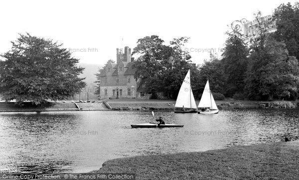 Bisham, National Recreational Centre c1955 #sailing #yachting #nostalgia
