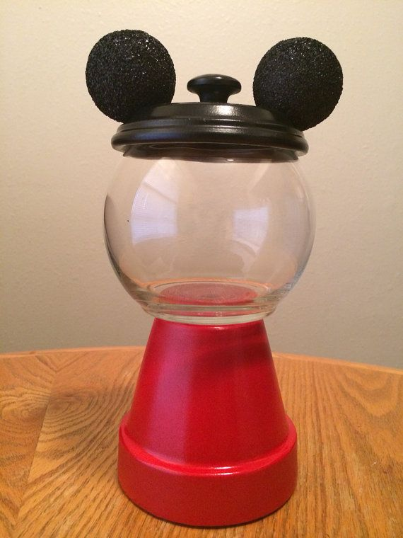 Mickey Mouse inspired center piece on Etsy, $18.00
