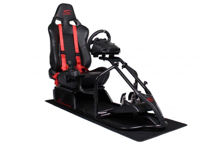 Speedmaster S Schwarz - Leder Optik   Speedmaster Das ultimative Gamer Monocoque. Perfektes Design, maximale Stabilität, maximale Beinfreiheit,zu einem sehr attraktiven Preis.
