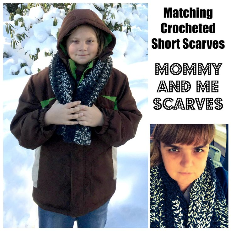 Mommy and Me Short Scarves