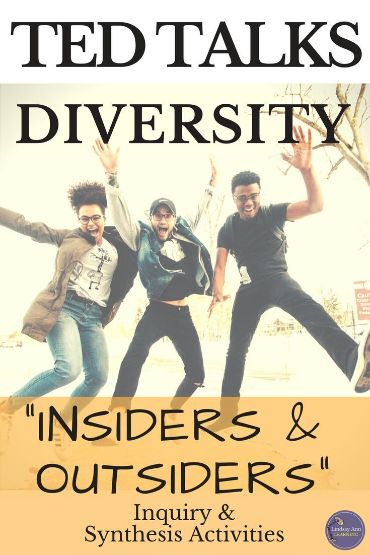 This no-prep mini unit uses TED talks to help students think about what diversity means in our society. Give students choice and use inquiry-based learning while targeting core ELA standards! Digital and print resources.