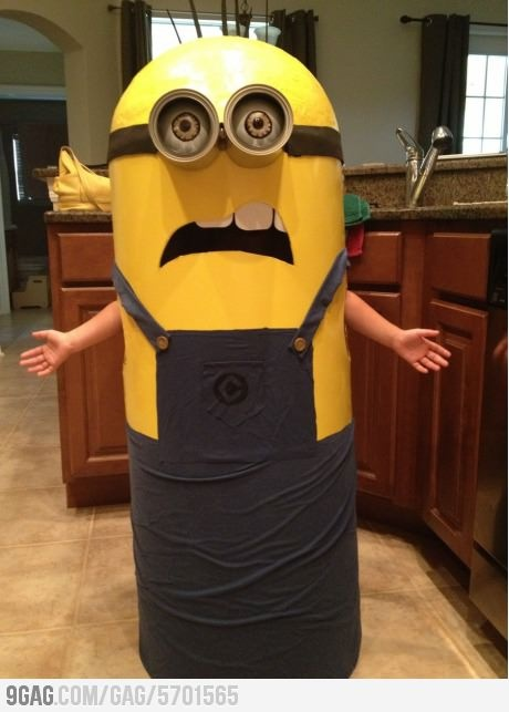 Homemade minion costume Anyone have an idea how to make this?