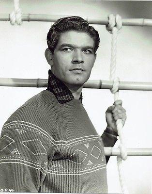 Stephen Boyd Irish Actor Vintage 1954 Portrait Photograph 9 x 7