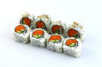 brown rice vegetable roll--I love sushi, I had it for dinner tonight ...