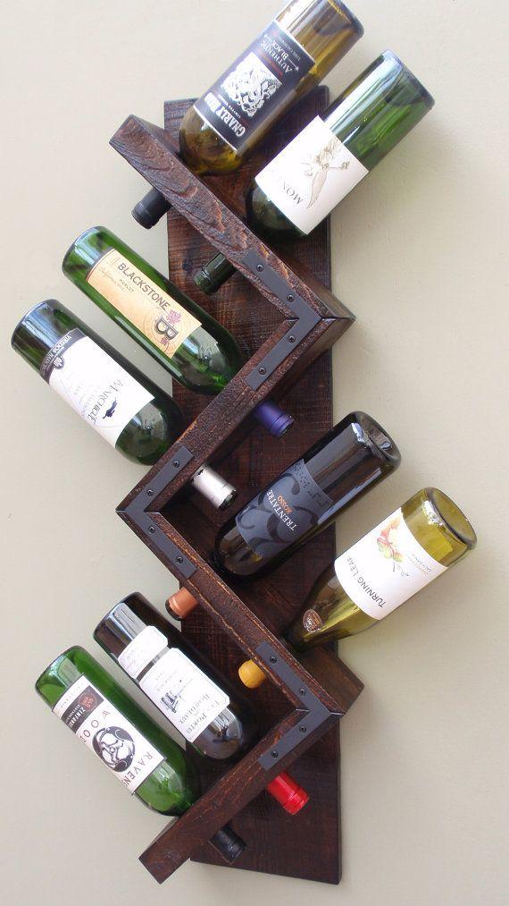 Best 25+ Wall mounted wine racks ideas on Pinterest   Wine ...