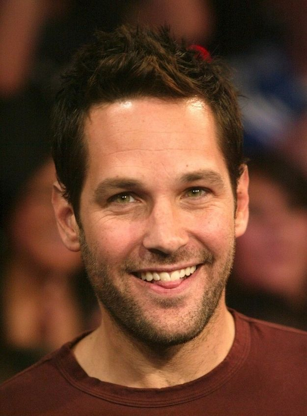 Paul Rudd nearly as fit as my husband!