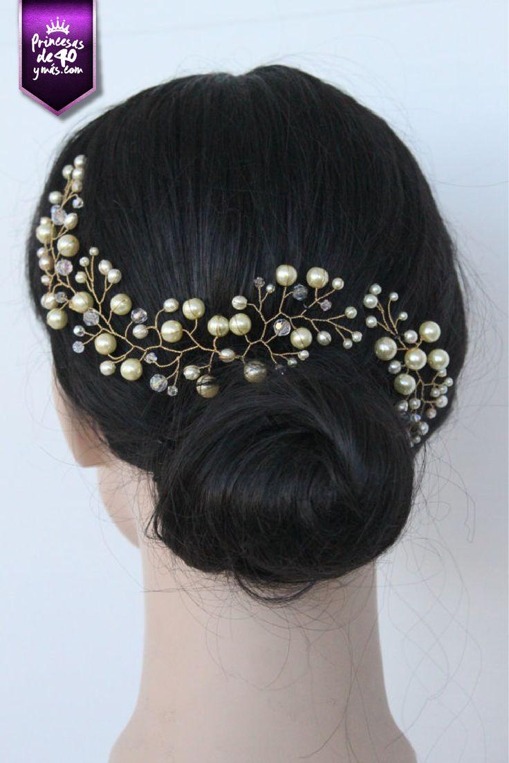 Un accesorio para que un simple chonguito se vea hermoso. #Peinado #wow #cute #love #PrincesasDe40