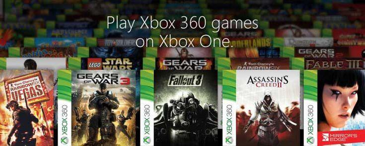 Une centaine de jeux Xbox 360 arrivent sur Xbox One