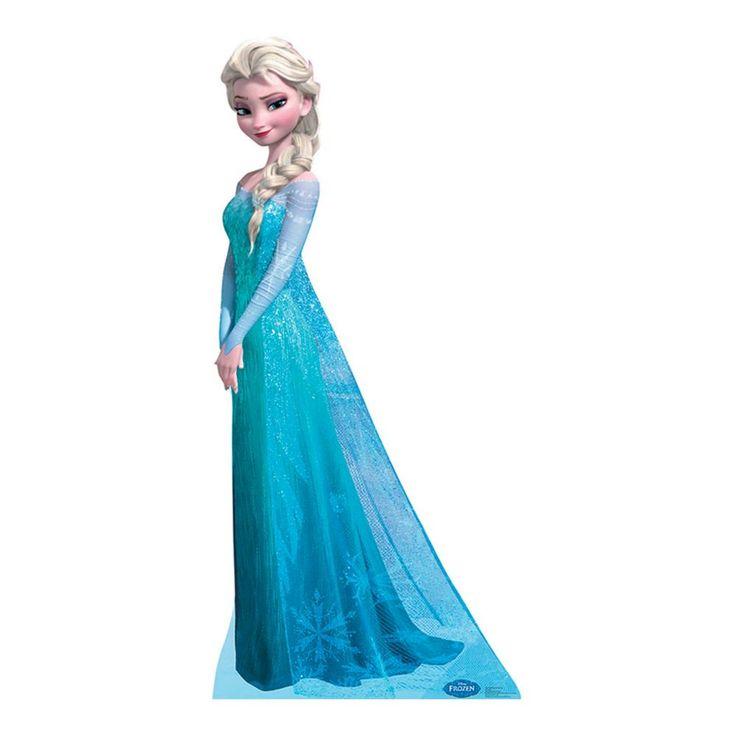 Disney Frozen Snow Queen Elsa Cardboard Stand-Up