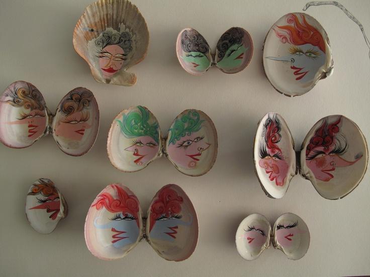 Isabel Rock: cycloptic pistachio people