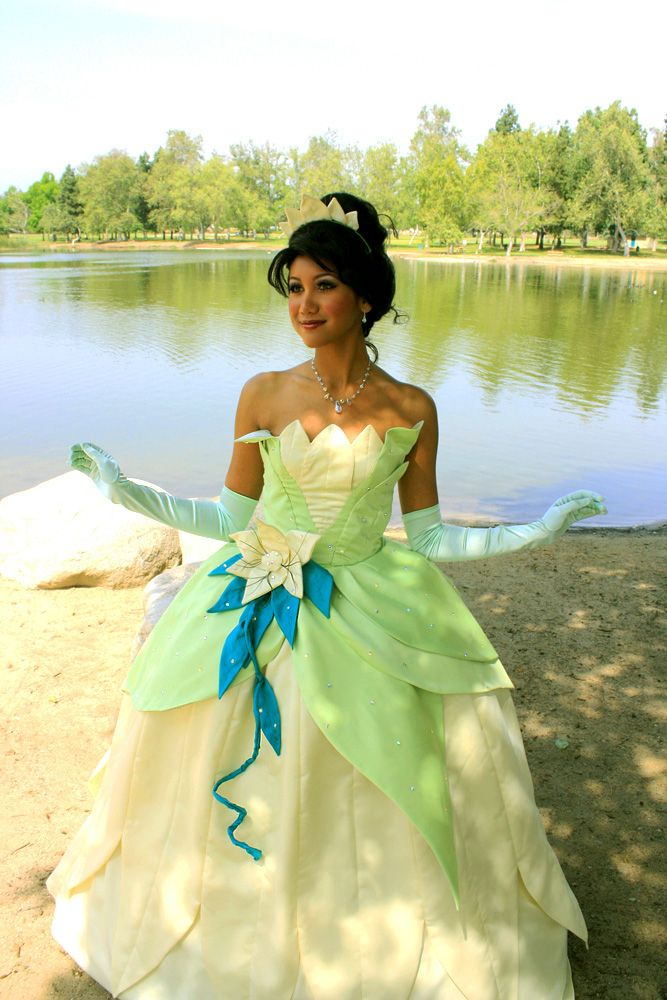 Frog Princess Lily Pad Dress – True Enchantment Entertainment cute ball gown