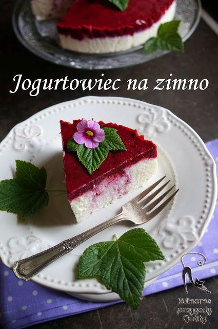 Kulinarne przygody Gatity: Dietetyczny jogurtowiec (sernik) na zimno z czarną...