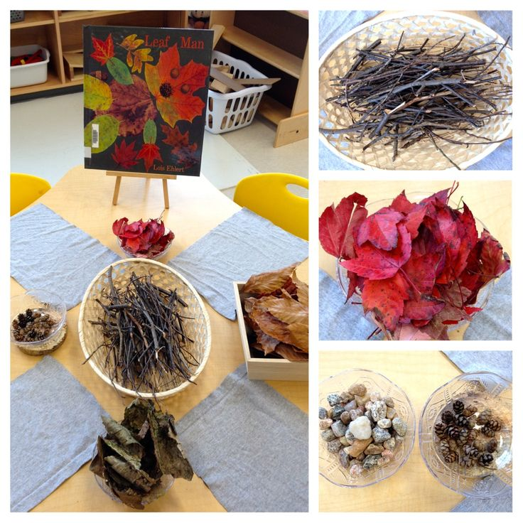 Leaf man provocation - art and literatue