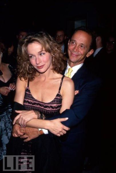 Stage and screen actor, singer, dancer Joel Grey and actress daughter, Jennifer Grey.