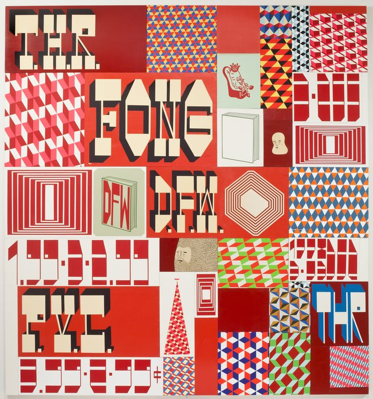 Barry McGee, Cluster #2, 2012