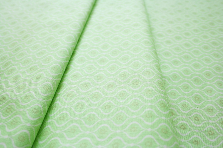 Anthology Fabrics Lullaby Baby PR549 geo fluorescent green