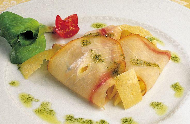 Penne in veste di pesce spada affumicato…  #lamadia #lamadiatravelfood #food