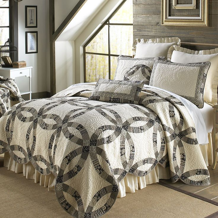 Paris Wedding Ring Quilt 43 best Donna